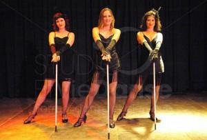 La troupe de cabaret