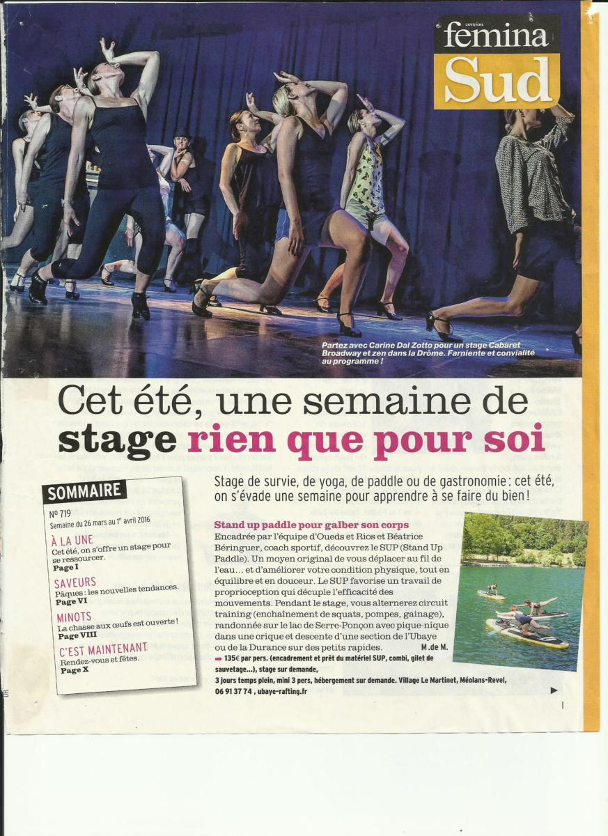 ARTICLE FEMINA- stage d'été 2016- avril 2016 (1)
